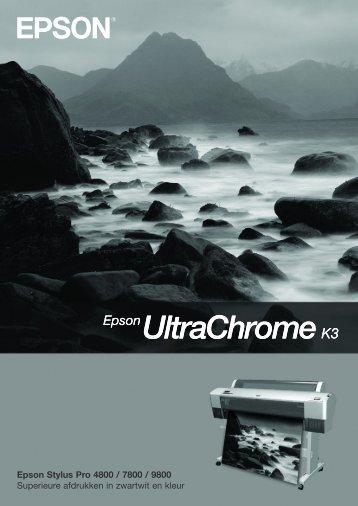 Epson Stylus Pro 4800 / 7800 / 9800 Superieure afdrukken in ...