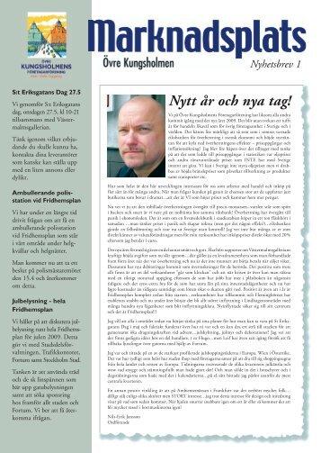 Nytt år och nya tag! - Övre Kungsholmens Företagarförening