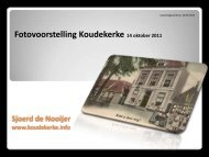 downloaden - Koudekerke