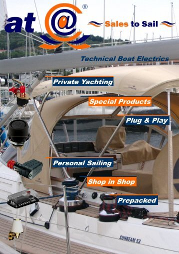 Private Yachting Special Products Technical Boat Electrics ... - cuatc
