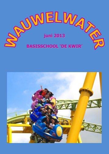 Link naar laatste uitgave van Wauwelwater - Brede School De ...