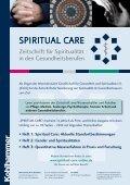 Spiritual Care: Aktuelle Standortbestimmungen • Heft ... - Kohlhammer - Seite 7
