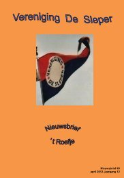 2012-04 Roefje 49 (pdf 3mb) - Vereniging De Sleper