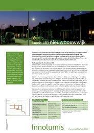 Lumis-LED nieuwbouwwijk - SNA Concepts   Home