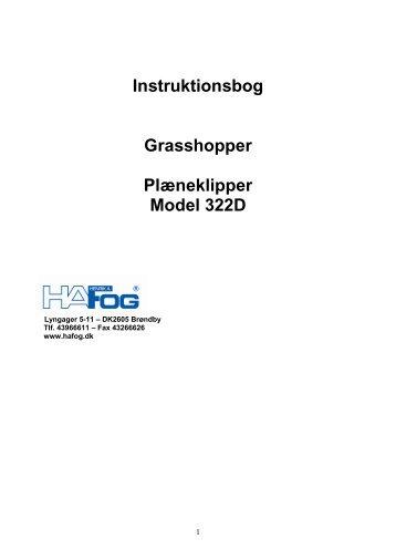 Grasshopper 322D - Henrik A Fog A/S