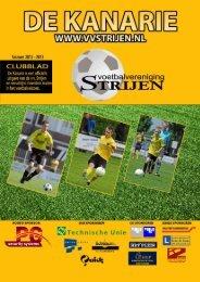 Kanarie uitgave - Voetbal Vereniging Strijen
