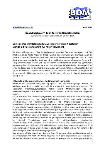 Das Milchbauern-Manifest von Berchtesgaden finden Sie hier