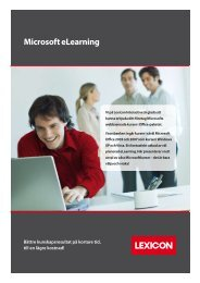 Microsoft eLearning - Lexicon