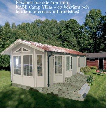 Flexibelt boende året runt! KABE Camp Villas - ett bekvämt och ...
