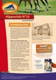 Hippoclub Nieuwsbrief nr. 32: april 2011 - Cavalor