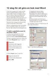 12 steg för att göra en bok med Word - u3m.se