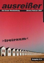freiraum -ausgabe #14 - ausreißer - die grazer wandzeitung - Mur