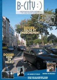 dossier - L'Eglise catholique de Bruxelles
