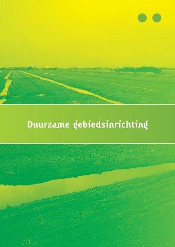 Duurzame gebiedsinrichting - Delft Cluster