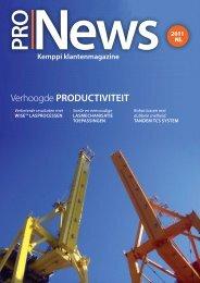 Verhoogde PRODUCTIVITEIT - KEMPPI - The Joy of Welding