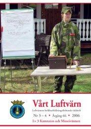 Vårt luftvärn nr 3-4/2006 - Luftvärnsförbundet