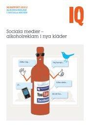 Om alkohol i sociala medier - IQ.se