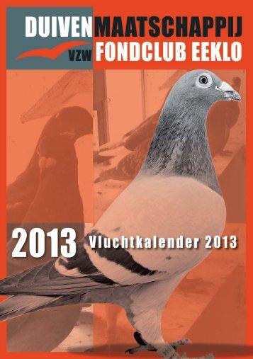 Digitale versie programmaboekje Fondclub Eeklo 2013 - PIPA