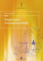 Regjeringens innovasjonspolitikk - Aksjonsprogrammet