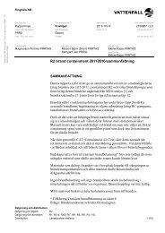 R2 brand containment 20110510/sammanfattning - Vattenfall