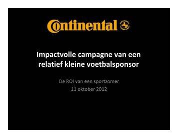 Impactvolle campagne van een relatief kleine ... - Sponsorcongres