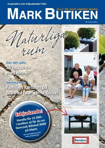 Klicka för att ladda ner vår tidning nr. 3 juni 2011 - Markbutiken.se