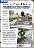 Klicka för att ladda ner vår tidning nr. 3 juni 2011 - Markbutiken.se - Page 6
