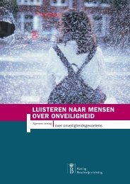 Luisteren naar mensen over onveiligheid - Vlaamse Ouderenraad