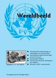 editie 2007/2 - Vereniging voor Verenigde Naties