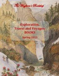 Exploration, Travel and Voyages: BOOKS - The Wayfarer's Bookshop