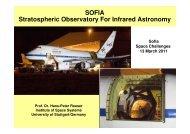 (SOFIA) Telescope Mass: 17.000 kg Primary Mirror