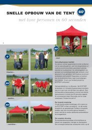 Download Productfiches - Tent & Things