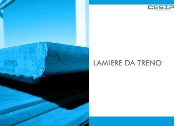 LAMIERE DA TRENO - Cesip Srl