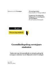 Download het rapport - Wetenschapswinkel Geneeskunde en ...