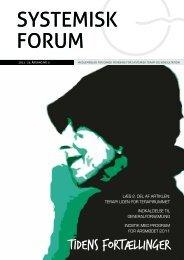 systemisk forum systemisk forum - STOK – Dansk forening for ...