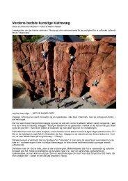 Anmeldelse af Verdens bedste kunstige klatrevæg - Viborg Klatreklub