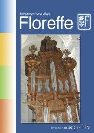 Bulletin communal de juin 2012, n°116 (pdf 1Mo) - Floreffe