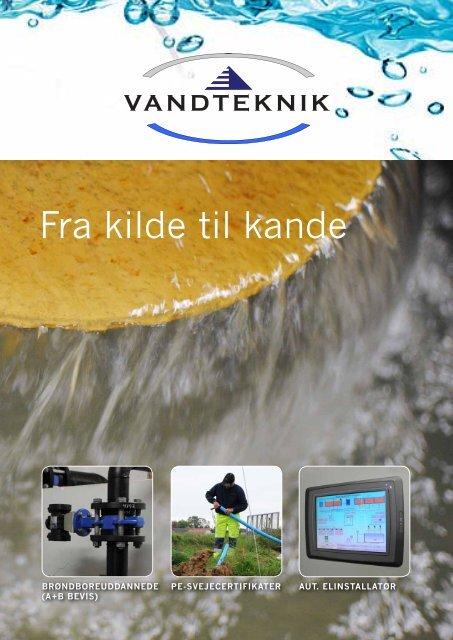 Klik her for at se vores brochure - Vandteknik ApS