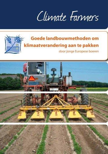 door jonge Europese boeren