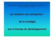 Soutien aux entreprises - filière Automobile Ile-de-France