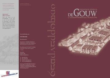 639.218 WOONBEDRIJF Verhuurbrochure De Gouw A4.indd