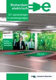 Rotterdam elektrisch - EV aansluitingen in parkeergarages