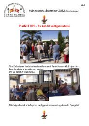 December - Danske Venners Klub, Torrevieja