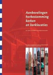 Aanbevelingen herbestemming kerken en kerklocaties.pdf - Belvedere