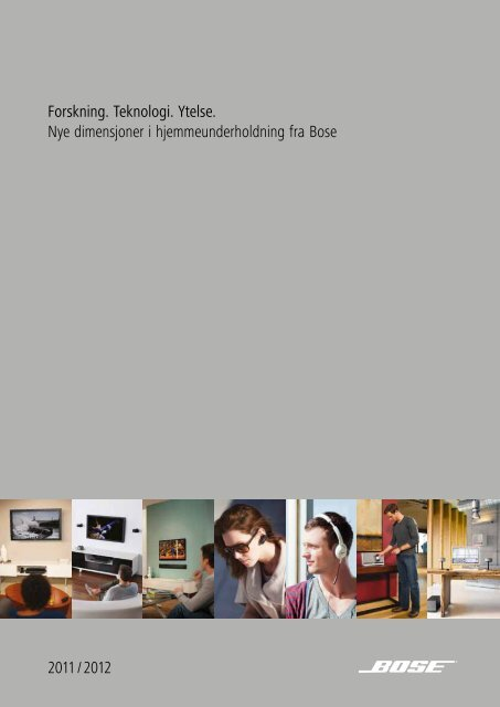 entertainment system - Bose Nordic
