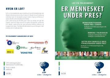 Download LOF's program for Folkemødet 2013 her.