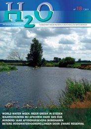 Inhoud H2O nummer 18, september 2011 - H2O - Tijdschrift voor ...