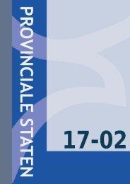 Vergadering provinciale staten d.d. 17 februari 2011 - Provincie ...