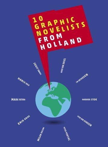 10 Graphic Novelists from Holland - Nederlands Letterenfonds