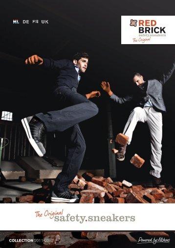 Redbrick safety sneakers - Zijlstra Beroepskleding
